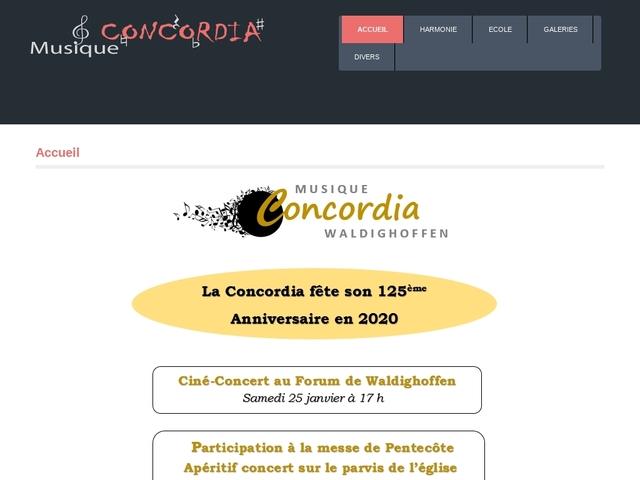 ECOLE DE MUSIQUE : Waldighoffen  Concordia