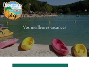 Montaigu Plage : camping quercy
