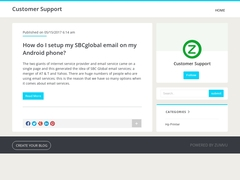 Easy way to setup my SBCglobal email on my Android phone
