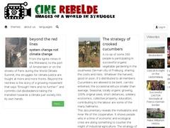 Cine rebelde : images d'un monde en lutte
