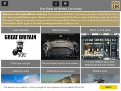 The Best of British Directory