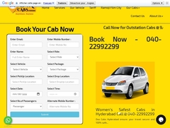 Ova Cabs in Hyderabad Call