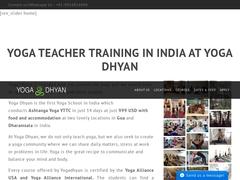 Yoga Teacher Training in India | Yogadhyan