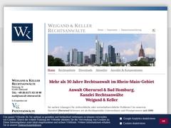 Anwaltskanzlei: Rechtsanwälte Weigand & Keller