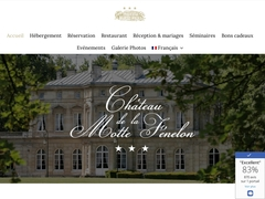 Le Château de la Motte Fénelon, hôtel***