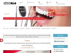33rd International Conference on Dental Health