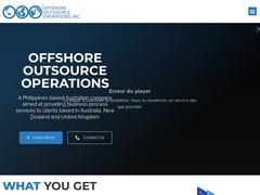 Offshore Outsource Operations