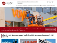 Sign Repair Company NY
