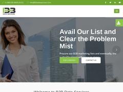 B2B Data Services - B2B Data Providers