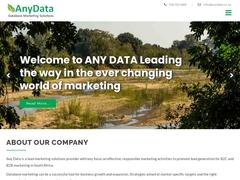 Any Data (Pty)Ltd
