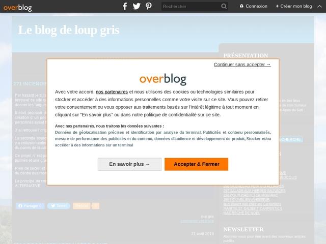 Le blog de loup gris