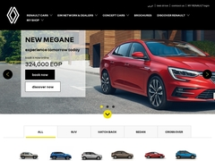 Renault Best French car in Egypt