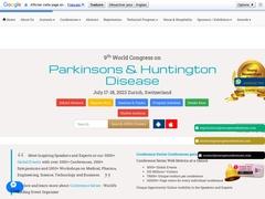 4th World Congress on Parkinsons &Huntington Disease