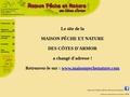 Maison pêche et nature des Côtes-d'Armor