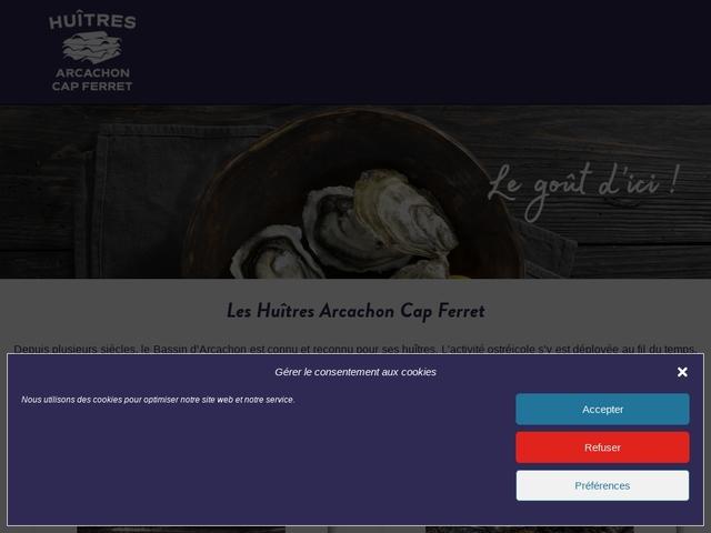 comité régional de conchyliculture Arcachon Aquitaine