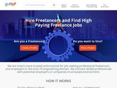 Hire Freelancers | Find Freelance Jobs Online | goHyP