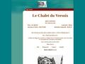 Chalet du Versoix Lamoura Jura