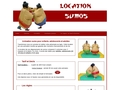 Jeux gonflables de sumo à Paris