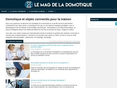 Le Mag de la Domotique