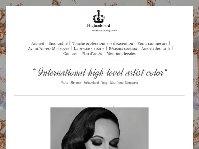 Expert coloration cheveux Paris
