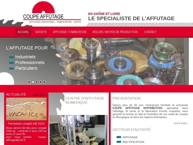 Coupe-Affutage Distribution sas - (71) - Affût outils tranchants