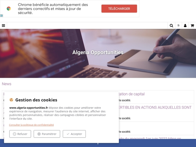 Business Opportunities in Algeria