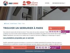 Réparation de porte  - Serrurier Paris 12