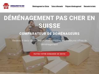 Devis de déménagement en Suisse