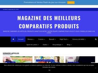 Magazine des meilleurs comparatifs de produits