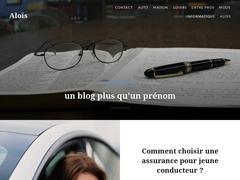 Aloïs, un blog, mais aussi un prénom