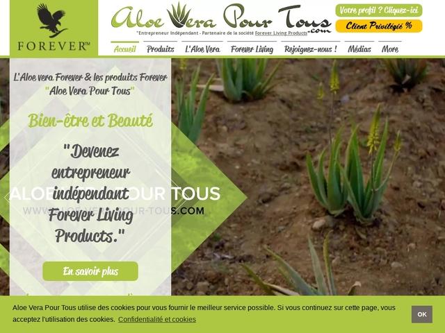 Aloe Vera Pour Tous