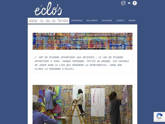 Le Closlieu, atelier du Jeu de Peindre