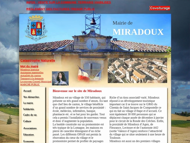 COMMUNE DE MIRADOUX