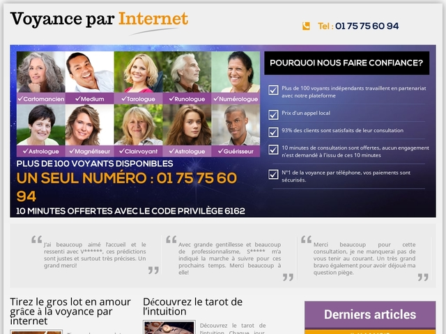 voyanceparinternet.info: voyance gratuite et sérieuse en ligne