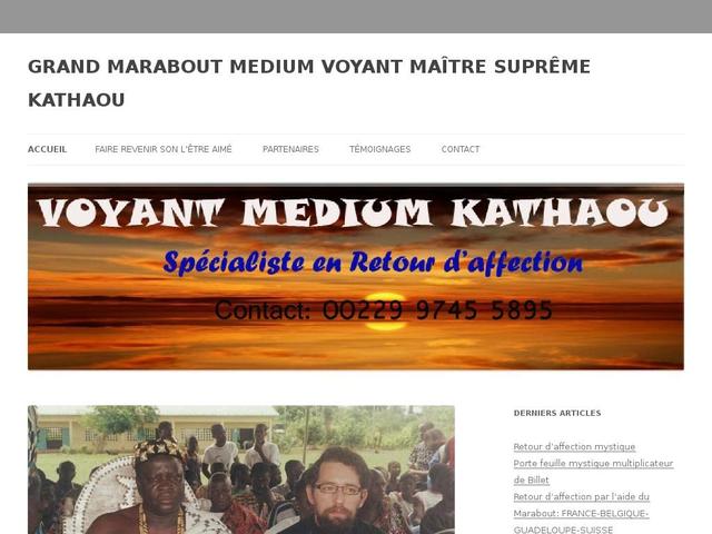 Voyant Marabout KATHAOU, Spécialisé au problème d'amour.