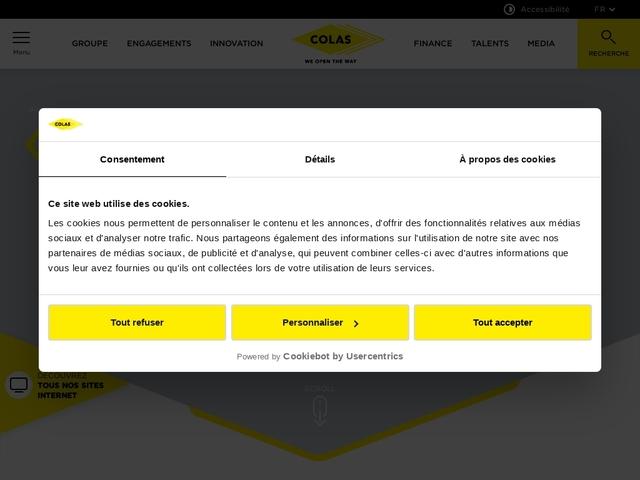 Les filiales routières AXIMA COLAS