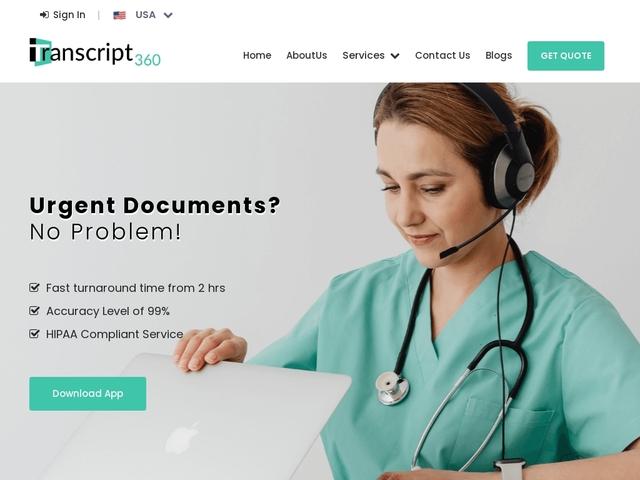 Quality transcription Company