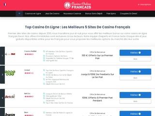 Casino Online Français