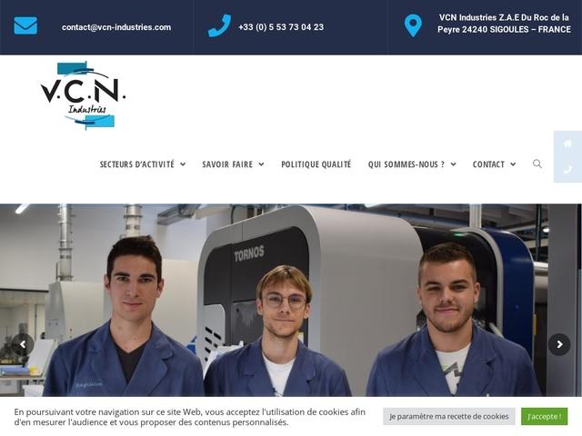 V.C.N-Industries sas - (24)# - M.G-Précision -Décolletage
