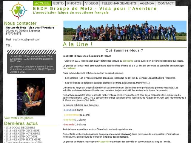 E.E.D.F. - Groupe Visa Aventure
