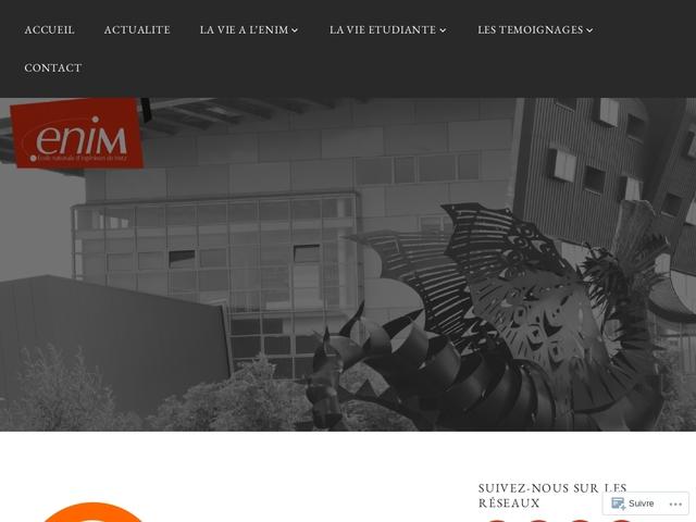 Ecole Nationale des Ingénieurs de Metz ENIM