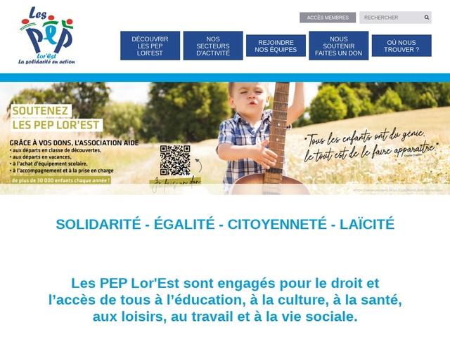 Pupilles de l'Enseignement Public de la Moselle - PEP 57
