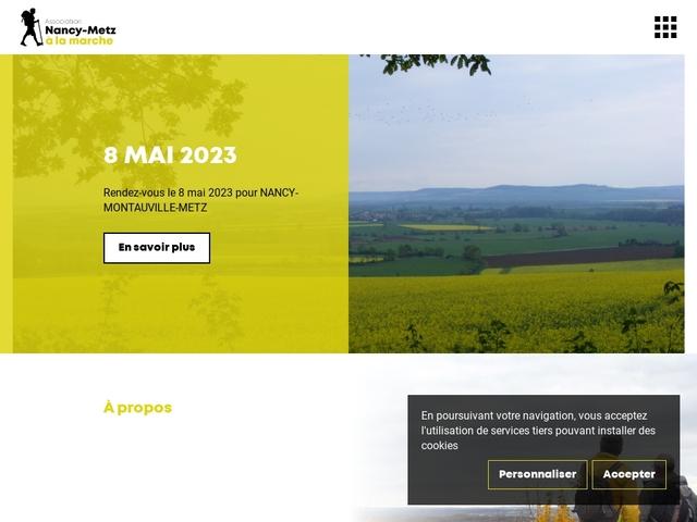 Site officiel de l'association Nancy Metz à la Marche