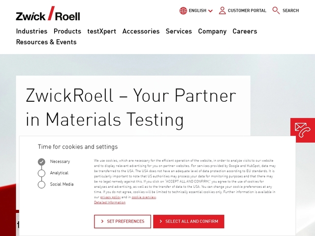 Systèmes d'essais de matériaux Zwick
