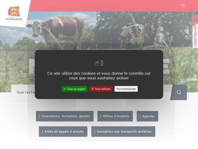 La Région Normandie -