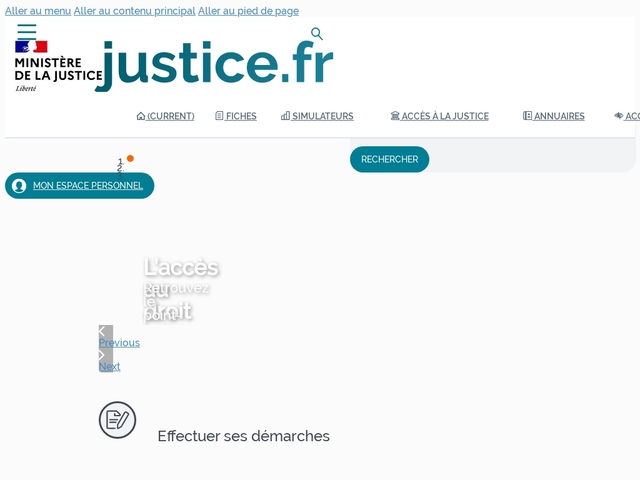 Justice.fr - L'information sur vos droits