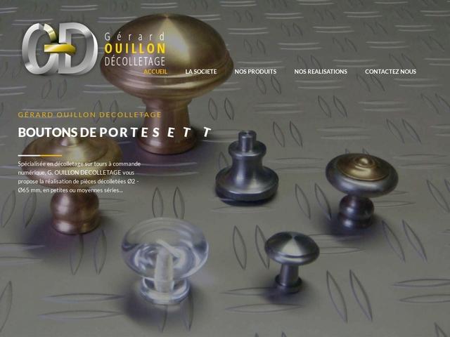 Gérard Ouillon Décolletage sas - (43)-Décolletage-Fabricant