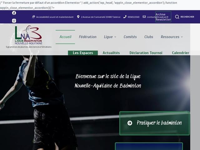 Ligue de Nouvelle Aquitaine