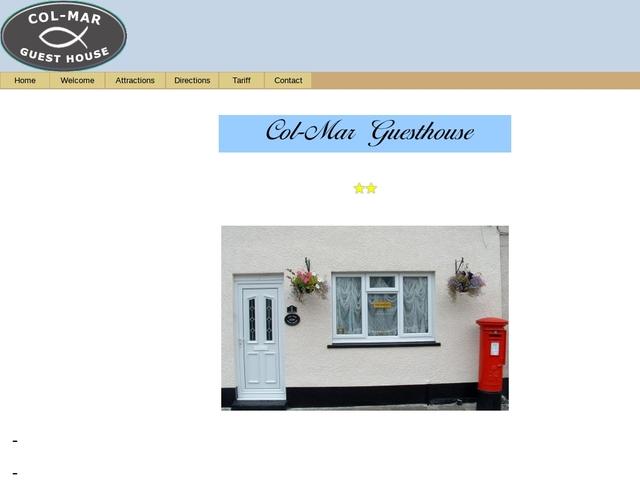 Col-Mar Guest House - Maesteg - Wales.