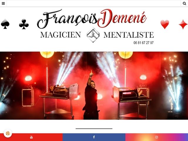 François Demené - Magicien & Mentaliste professionnel